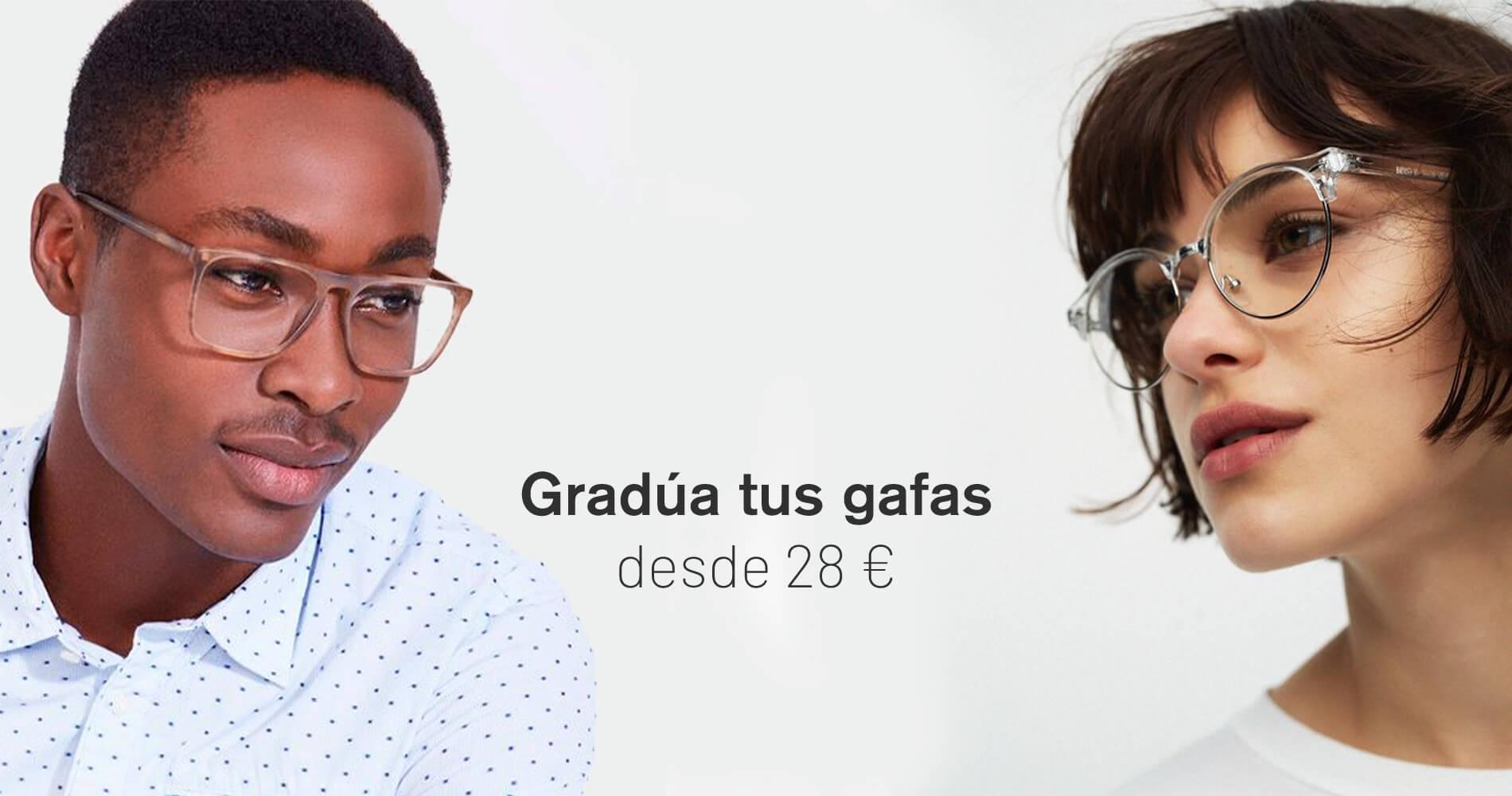 Gradúa tus gafas