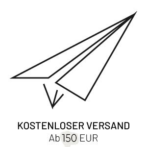 Kostenloser versand, ab 100€