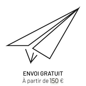 Envoi gratuit, a partir de 100€