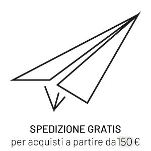 Spedizione gratis per acquisti a partire da 100€