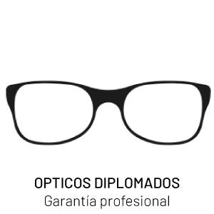 Opticos diplomados, garantia profesional