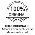100% originales, marcas con certificado de autenticidad