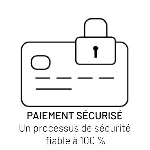 Paiement securise, un processus de securite fiable a 100%